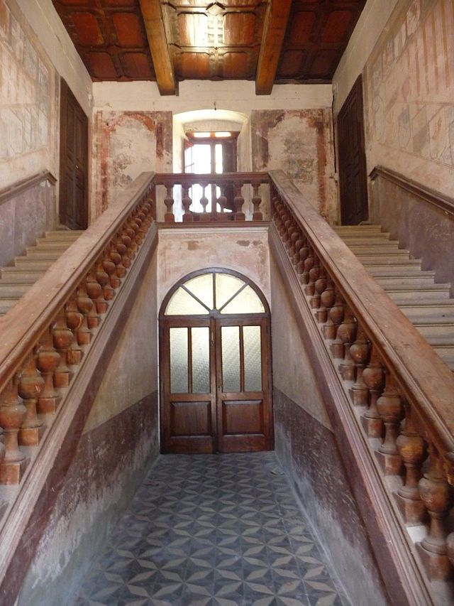 Villa Ferdinandea, ex residenza Borboni, Stilo, Calabria