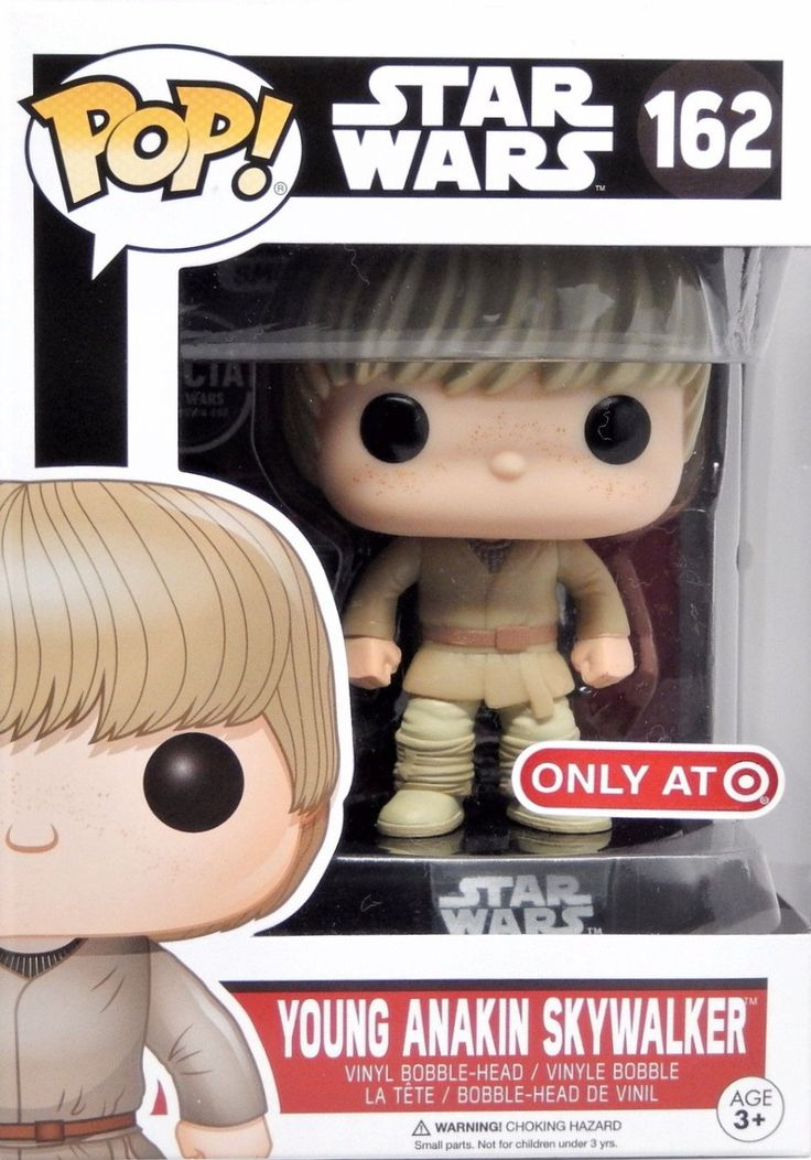 Pop! Star Wars: Young Anakin Skywalker - 162 [Exclusive]