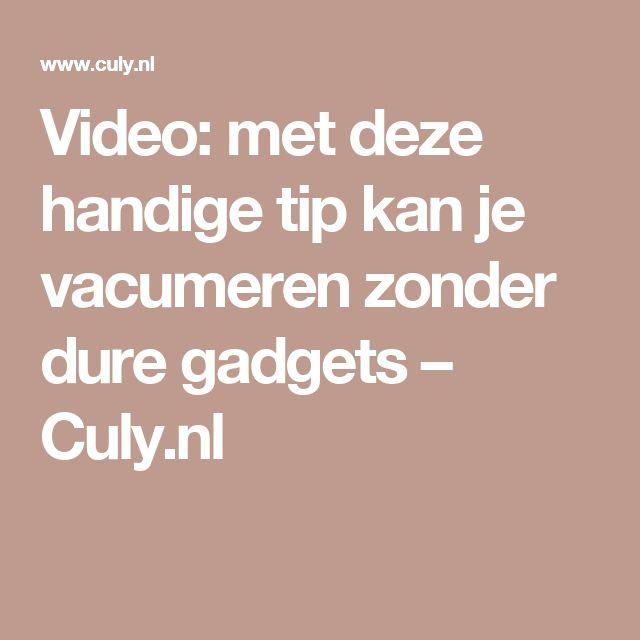 Video: met deze handige tip kan je vacumeren zonder dure gadgets – Culy.nl