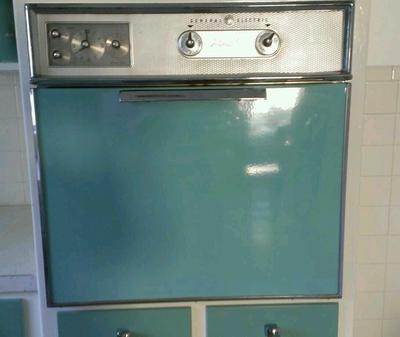 1950's 1960's General Electric Wall Oven / Retro / Antique ...