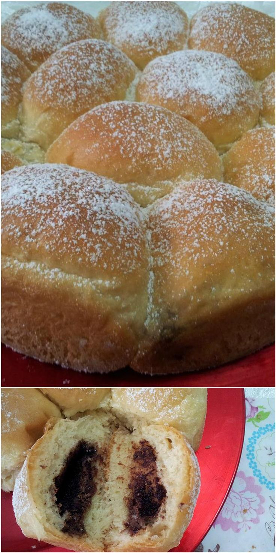 Danubio dolce alla nutella! Super goloso! #danubio #nutella #dolce #ricettegustose