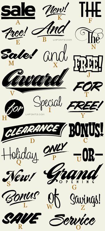 Letterhead Fonts / LHF Borges Catchwords 2 / Word Art