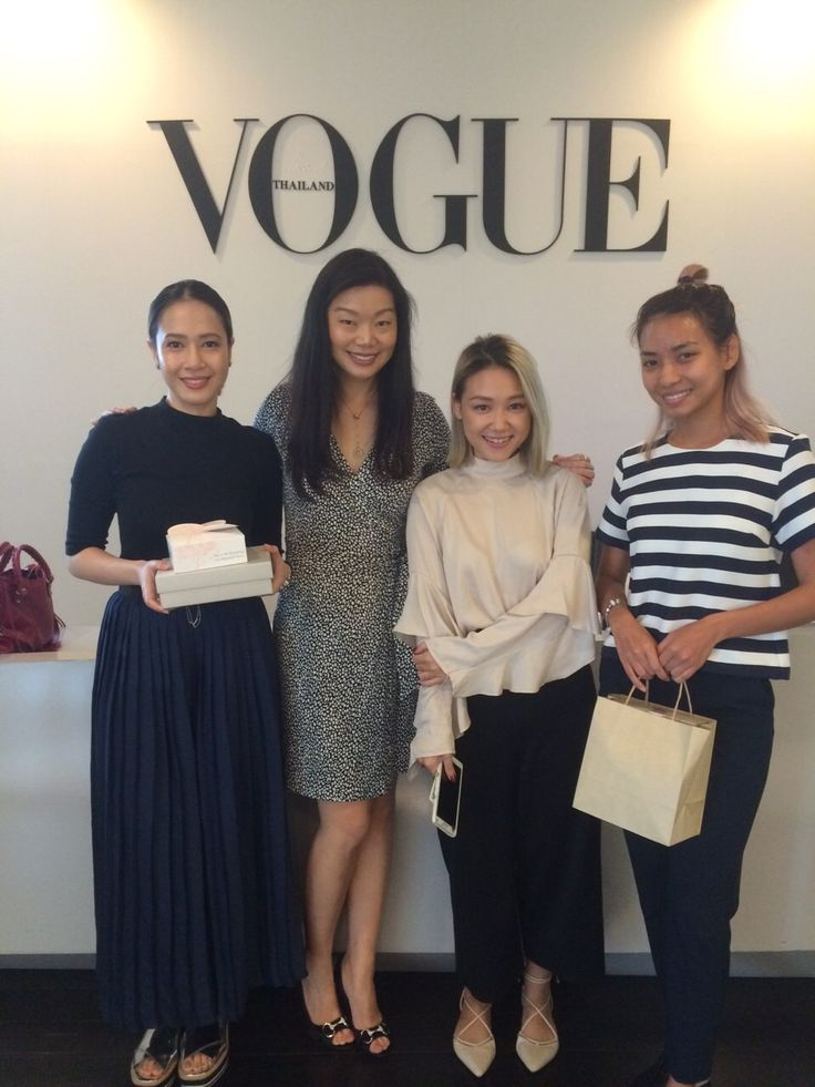 A fun morning with VOGUE Magazine digital team in Thailand.
