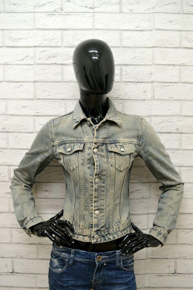 online store 686a1 768cb Giubbino Jeans DIESEL Donna Taglia Size S Giubbotto Giacca ...