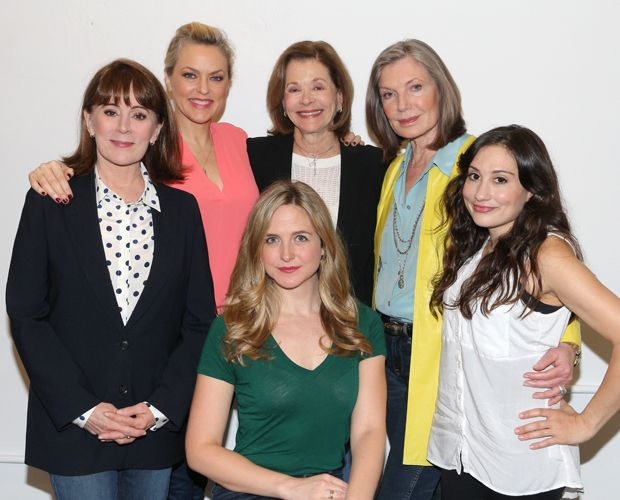 Patricia Richardson, Elaine Hendrix, Clea Alsip, Jessica Walter, Susan Sullivan, and Lucy DeVito star in Steel Magnolias at Bucks County Playhouse. May 2016