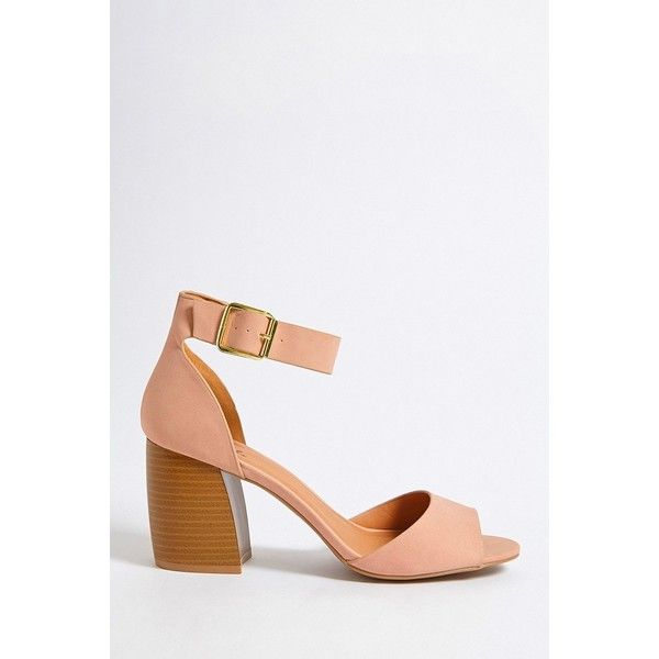 Forever 21 Qupid Faux Suede Open-Toe