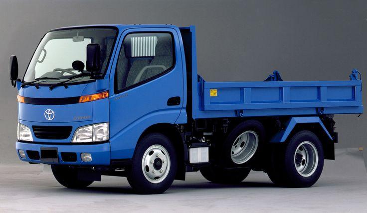 Toyota Dyna Tipper JP-spec '1999–2002