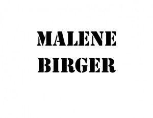 Malene Birger Træder ud af By Malene Birger