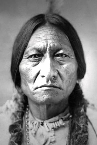 Sitting Bull- born in the Dakota territory. A real native american advocate.