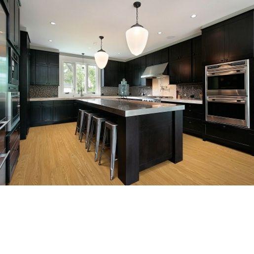 Oak Kitchen Black Floor: 32 Best Dark Cabinets W/light Or Dark Floor? Images On
