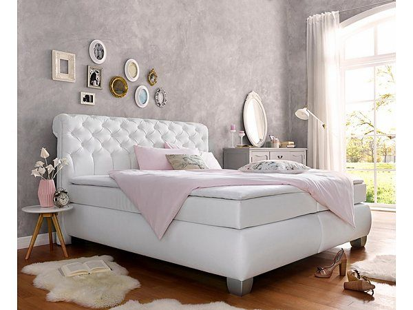 die besten 25 boxspringbett g nstig ideen auf pinterest. Black Bedroom Furniture Sets. Home Design Ideas
