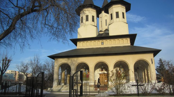 Magnificent church in Bucharest, Romania