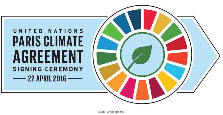 CLIMA: 170 paesi firmano l'Accordo di Parigi nonostante la temperatura media globale stia aumentando di circa 3°C.  #clima #climate #ambiente #temperatura #Parigi #accordodiparigi