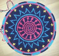 Annelies Crochet: Tapestry Bag á la Mochila bag!