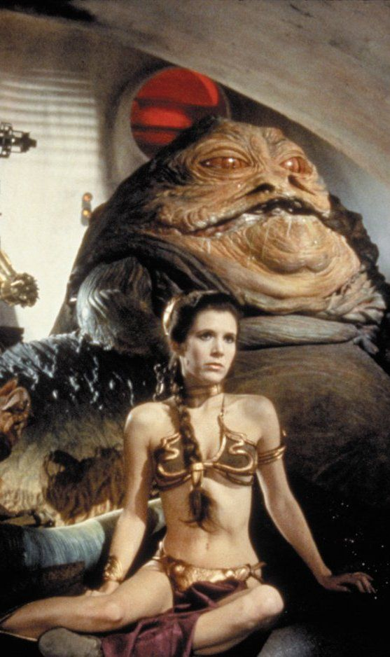 Princess Leia and Jabba the Hutt - Star Wars                                                                                                                                                                                 Plus