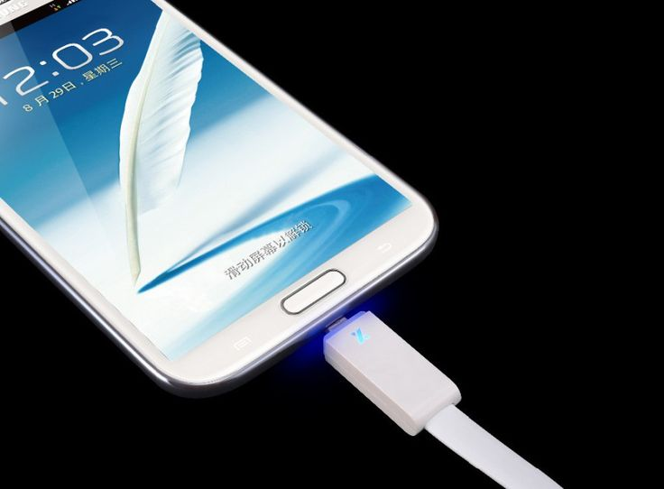 Durable Smart LED Light Micro USB 2.0 Data Sync Charger Cable Cords for LG Samsuang Galaxy S4 HTC Android Phone – Shop Now! – WorldOfTablet.com