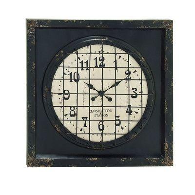 Cole & Grey Wall Clock