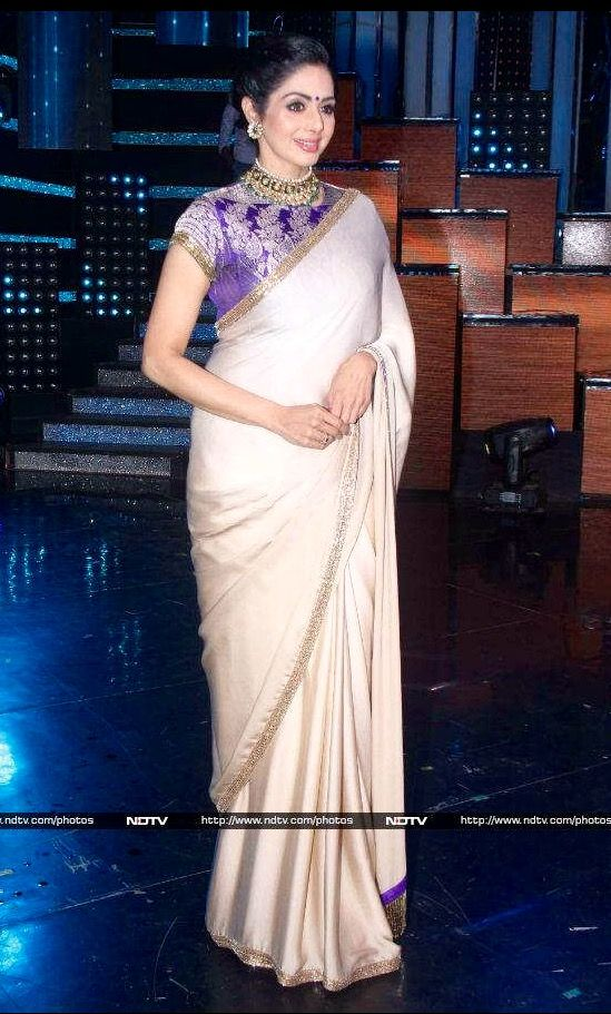 Sridevi in Manish M saree.