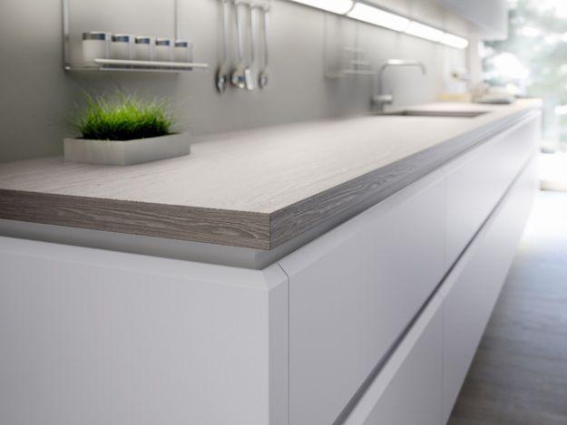 7 tipos de encimeras para tu cocina - Encimera de madera XEY - Ventajas e inconvenientes