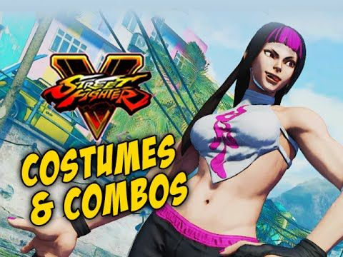 COSTUMES & COMBOS: Juri - Street Fighter 5 Online Matches Pt.3