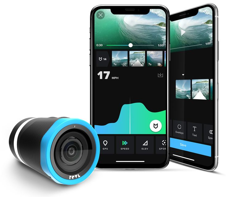 The stabilized action camera that edits for you. Revl Arc is a Waterproof 4K Action Camera with Physical + Electronic Image Stabilization & Smart Editing