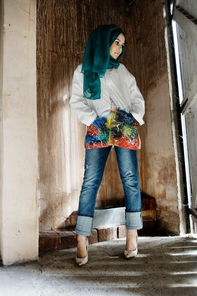 Dina Tokio #hijab #colors