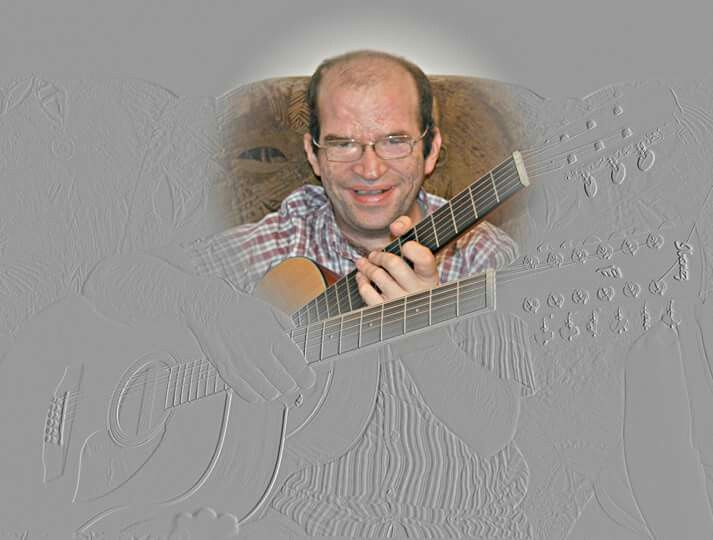 Adrian Double guitarist