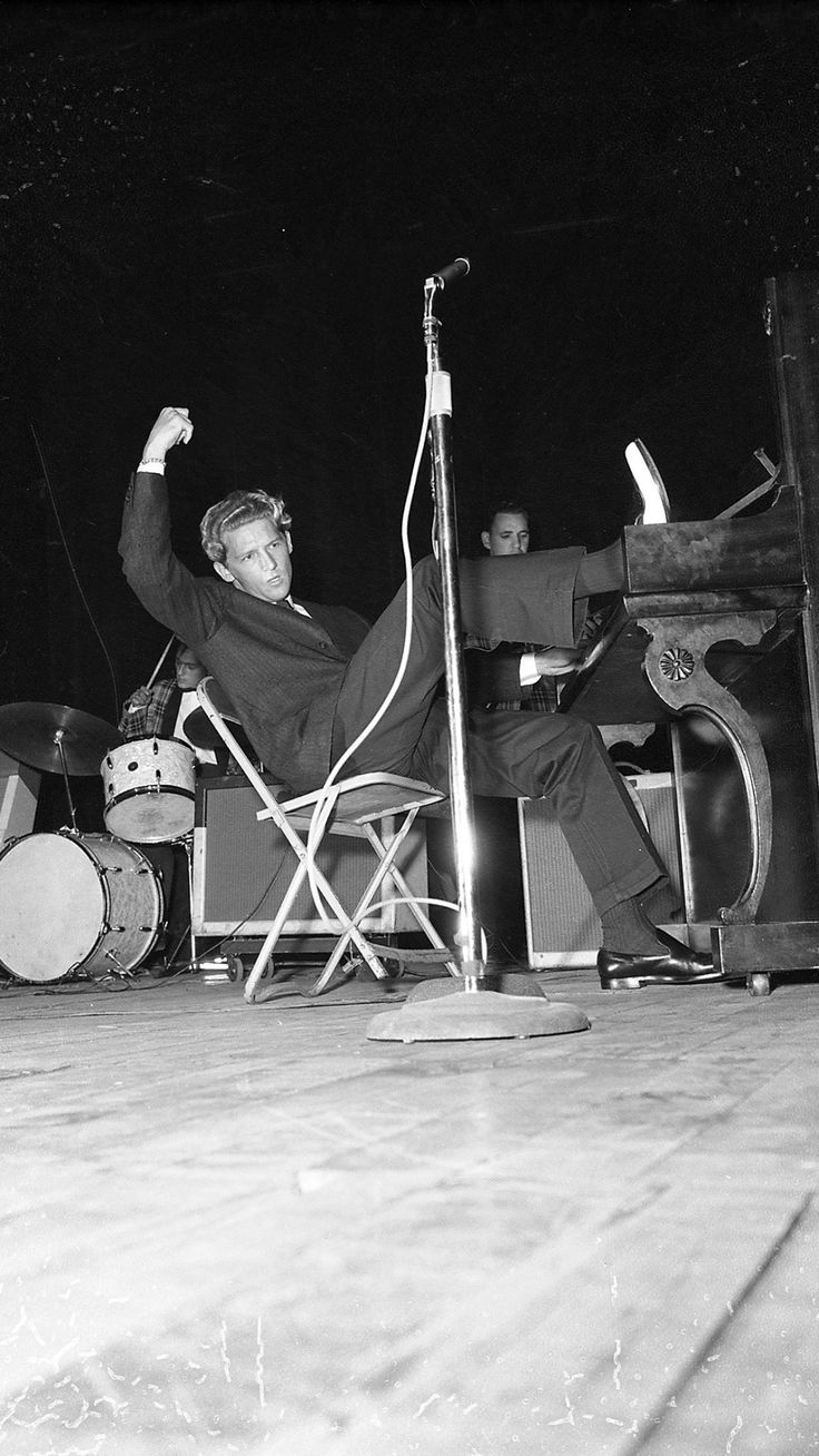 "pinkeye-private-i: "" Jerry Lee Lewis at the Ottawa Auditorium, Canada, August 15, 1958. (Credit: Archives of the City of Ottawa.) "" #thekiller #chuckabillyrules"