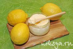 Лимонный крем как курд, но нежнее.