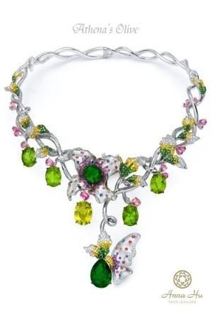 Rosamaria G Frangini | MY Green Jewellery | Anna Hu Haute Joaillerie by VoyageVisuelle