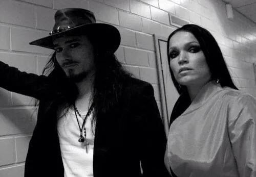 Tuomas and Tarja at the Hartwall Areena, October 2005