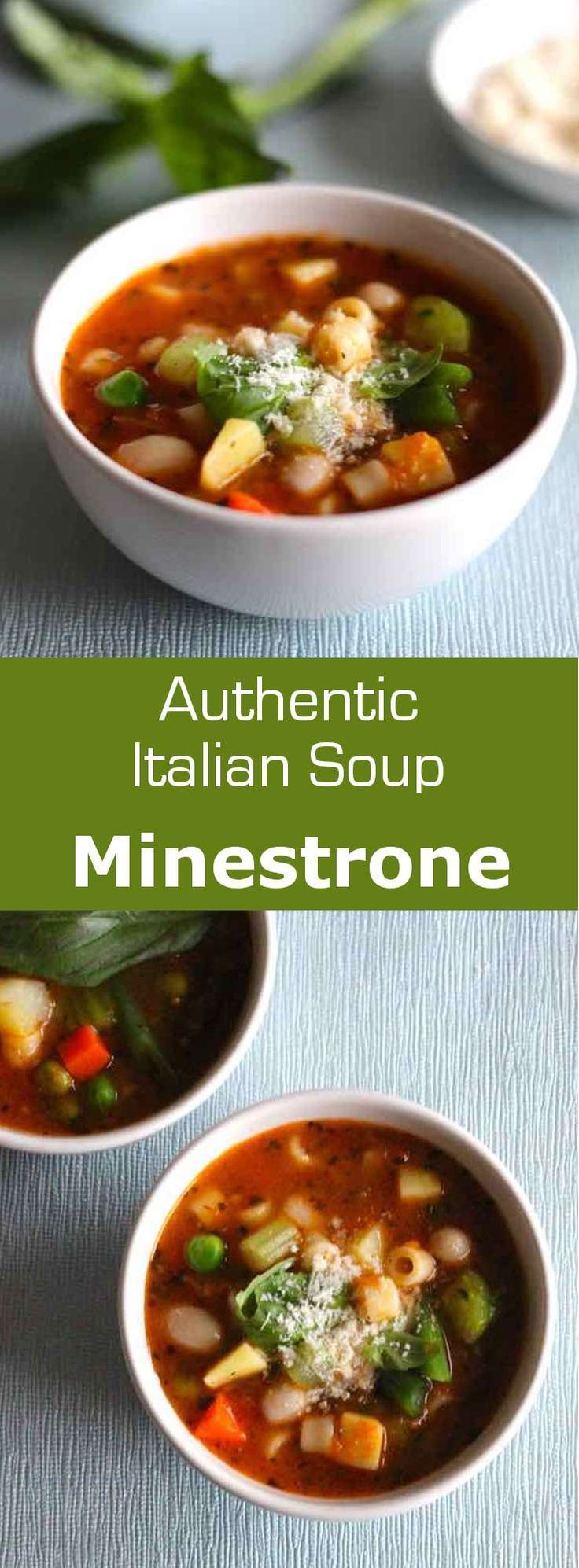 From Italian Minestra Soup Or To Serve Minestrone Refers To A Preparation Of