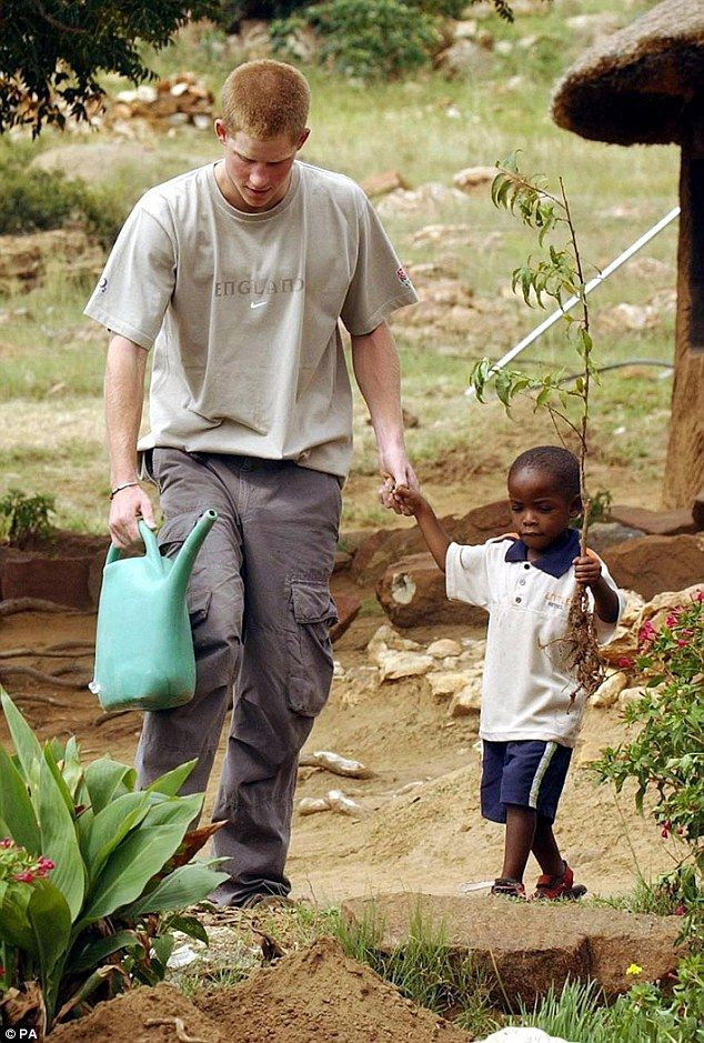 Like so many children Prince Harry met during that trip in 2004, vulnerable Mutsu's life h...