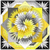 Spiral Lone Star Black, Grey, Yellow