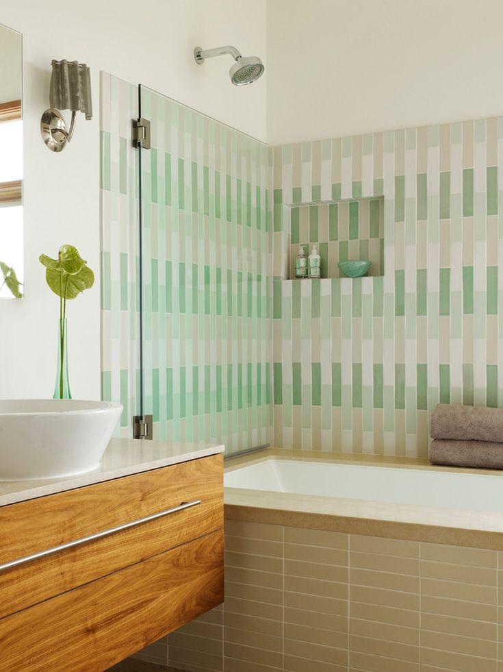 Awe Inspiring Heath Ceramics Decorating Ideas For Glamorous Bathroom  Contemporary Design Ideas With Duravit Vessel Sink Frameless Shower Door  Heath Tile ...