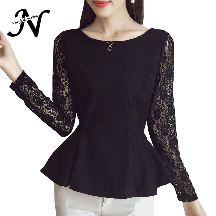 >>>Low Price GuaranteeBlack White Lace Blouses Women's Fashion Trends 2016 Fashion Ruffles Long Sleeve Shirt Women Peplum Tops With An Open BackBlack White Lace Blouses Women's Fashion Trends 2016 Fashion Ruffles Long Sleeve Shirt Women Peplum Tops With An Open BackDiscount...Cleck Hot Deals >>> http://id741862539.cloudns.pointto.us/32762763950.html images