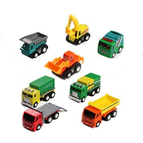 Oferta: 11.96€ Dto: -46%. Comprar Ofertas de Juguetes de Coches Mini Coches Camión 8 Pcs Vehículos de Construcción para Niños Mayores de 3 Años barato. ¡Mira las ofertas!