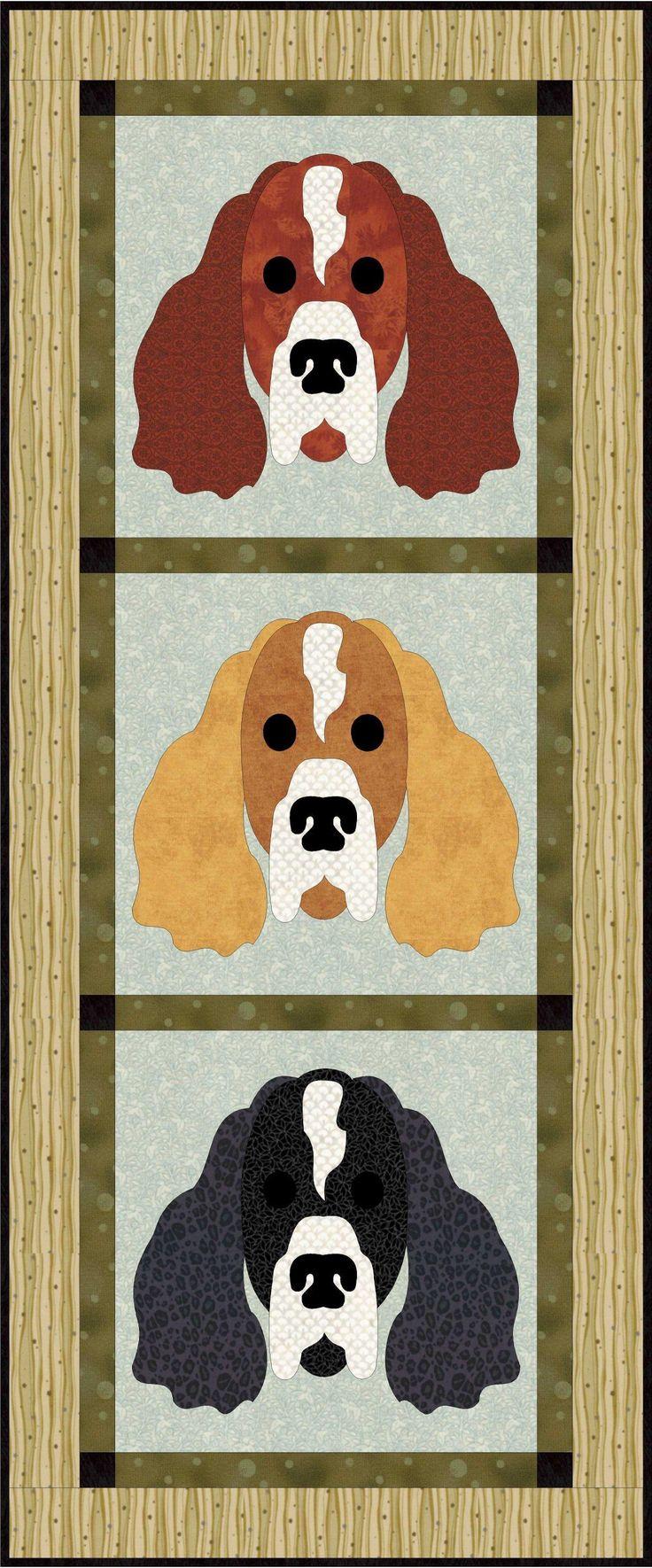 Springer Dog Applique | Craftsy
