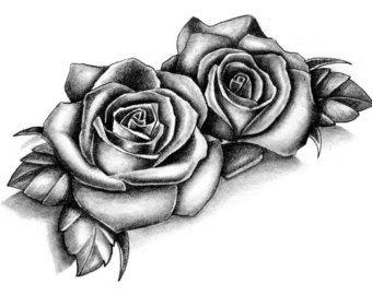 Fiore di loto tatuaggio temporaneo di TattooLifeStyle su Etsy