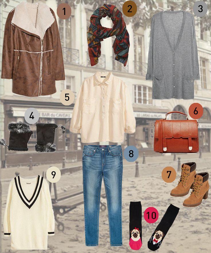 La top ten fashion della squattrinata La redazione di Melarossa ti propone un look femminile a prova di freddo e di portafoglio!