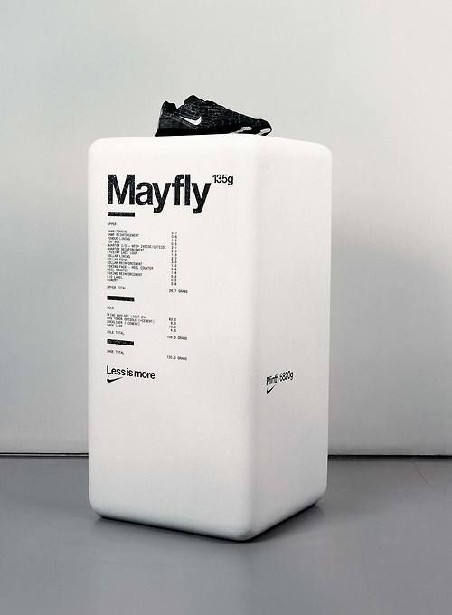 Spin / Nike / Mayfly / Display Plinth / 2004