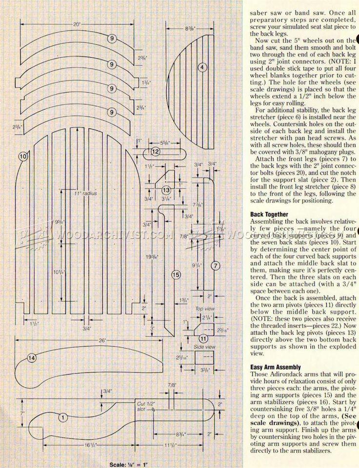 Best 25 folding adirondack chair ideas on pinterest for Adirondack ottoman plans