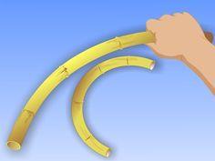 Il bambù è una risorsa rinnovabile e ampiamente diffusa. È usato nell'artigianato, nella produzione di mobili e perfino come materiale da costruzione. Appena tagliato e ancora verde, il bambù è molto flessibile, può essere modellato e tratt...