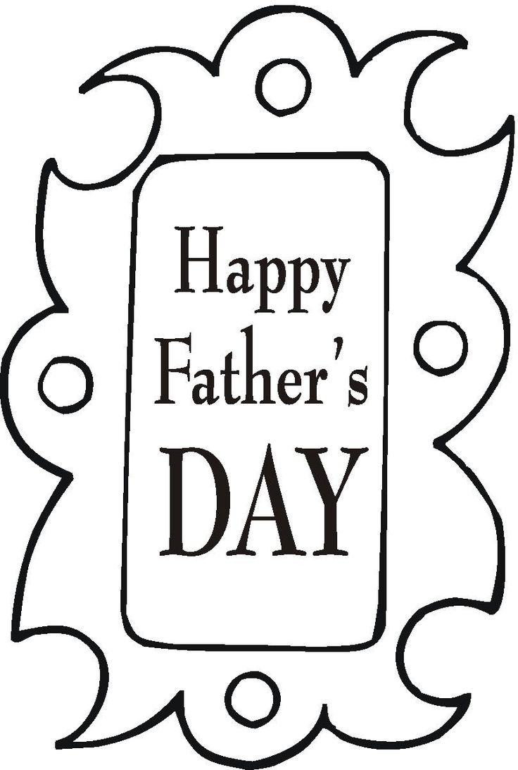 Childrens fathers day coloring pages - Happy Fathers Day Coloring Pages Google Search