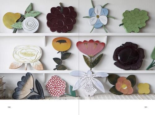Fujiwo Ishimoto ceramic flowers...