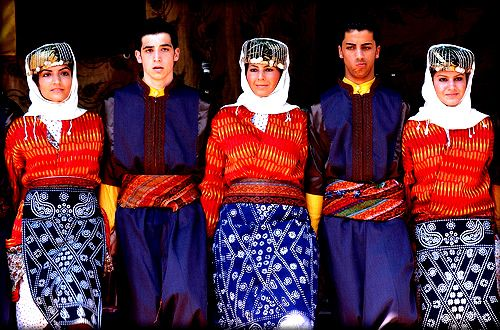 Turkish folk costume