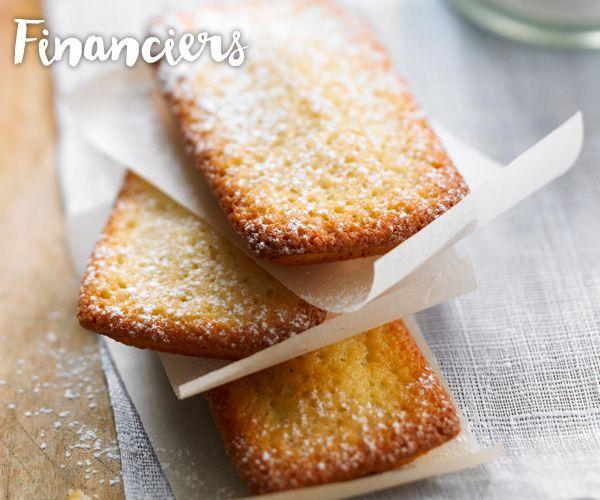 Les #financiers du chef Lignac, à déguster au goûter ou au dessert.