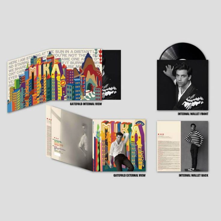 Mika - No Place In Heaven vinyl