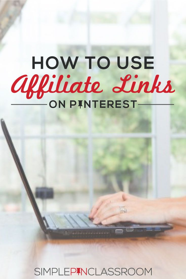Learn how to use affiliate links on Pinterest effectively and efficiently to maximize your income potential.