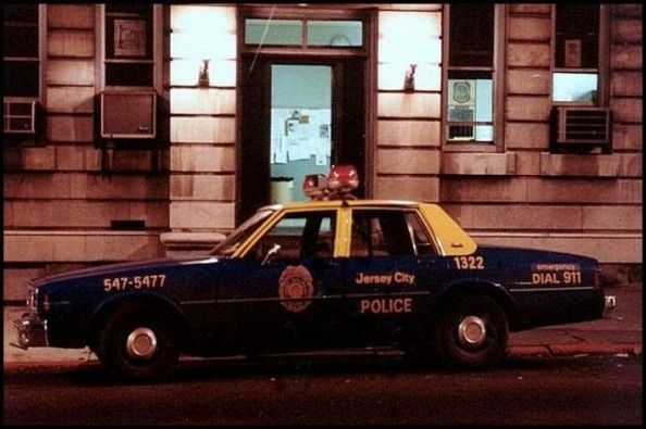 Old Jcpd Police Cars During 70s Jersey City City Car Police Cars